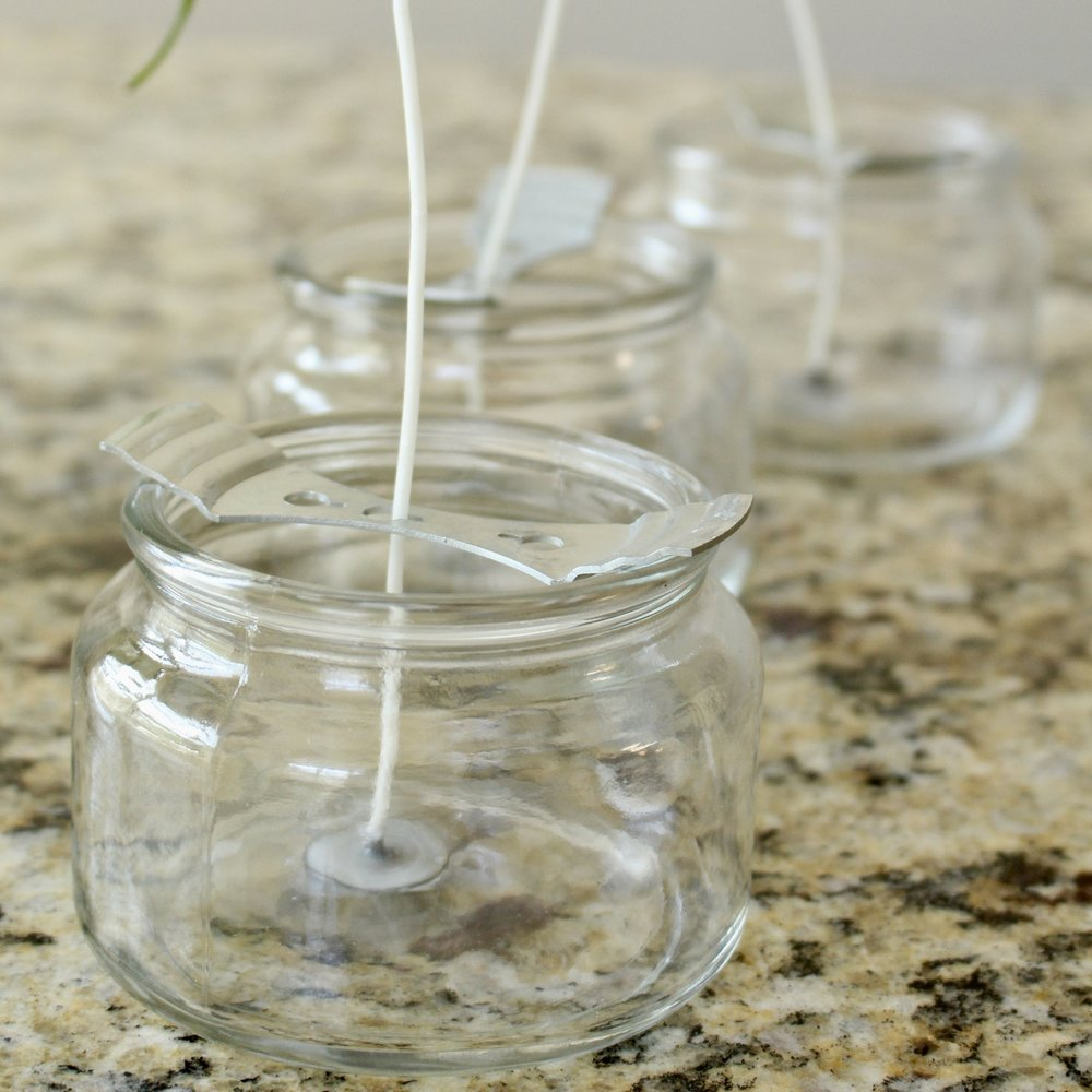 Gracefully Made DIY Candles - Jars