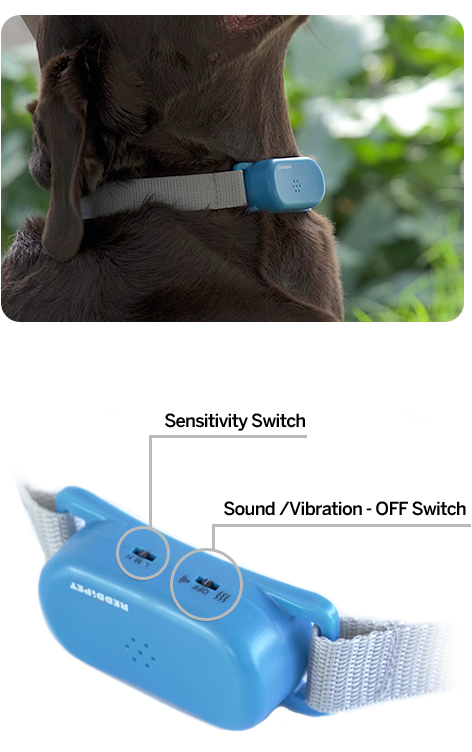 For the best results: - For the best results:Place the No-Bark Collar on your dog's neck. The plastic unit should be sercurley placed under the chin.