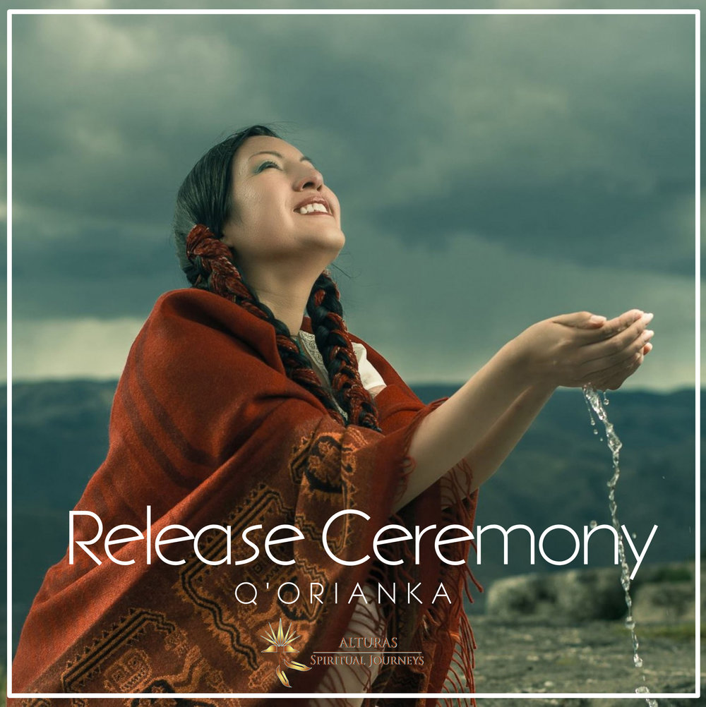 Sign Up for RELEASE CEREMONY & Stay Connected - Receive this unique Free Gift Audio transmission infused with the energy vibration of freedom and our biweekly newsletter.