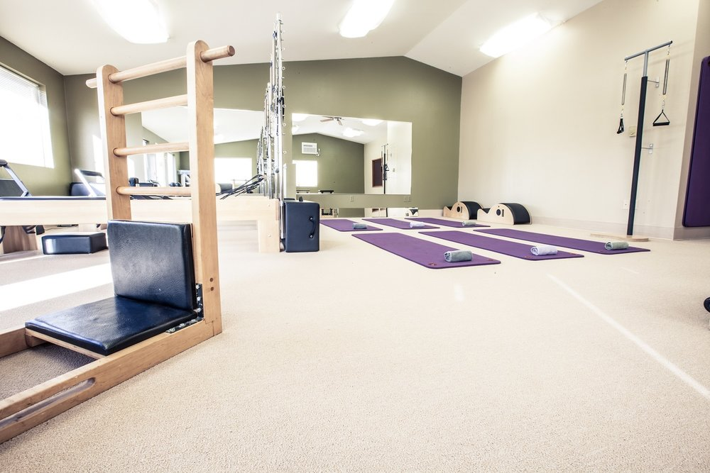 pilates studio, yoga, barre