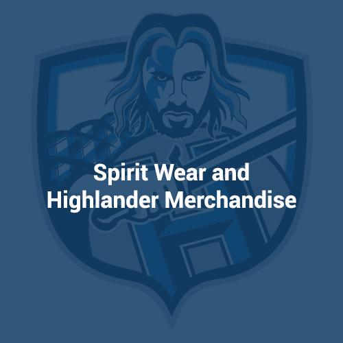 Spirit Wear and Highlander Merchandise.png
