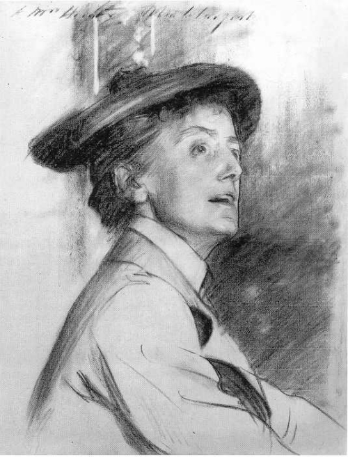 John Singer Sargent.  Dame Ethyl Mary Smyth , 1901. National Portrait Gallery, London. Gift of the sitter's nieces, Mrs. Elwes, Mrs. Williamson, and Lady Grant Lawson, 1944, NPG 3243. (Image: National Portrait Gallery, London)