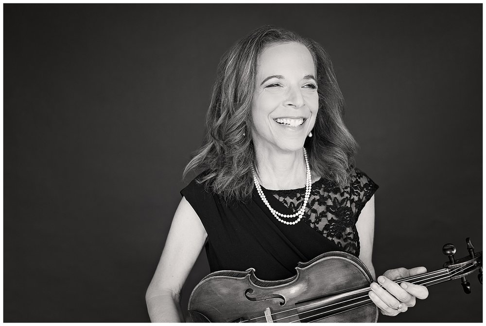 """As time went by, I created my own arrangements of Jewish wedding music for string quartet that expressed who I am and what I felt inside my 'neshama' (soul)."" - Judy Levine-Holley"