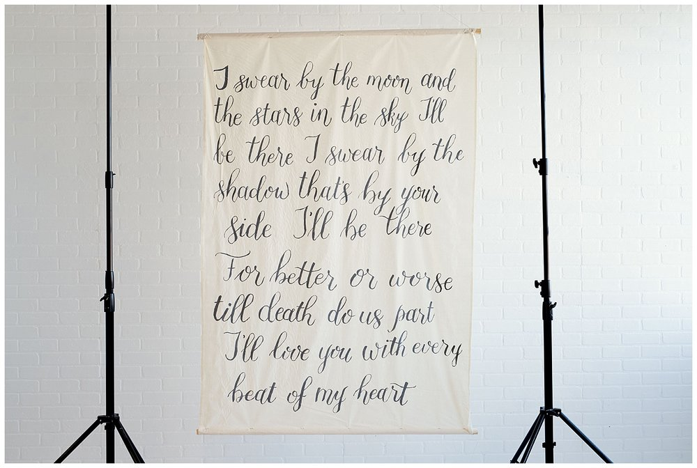 This backdrop that can be used as the perfect backdrop for your wedding that can be converted into a piece for your home. This handmade piece of art is currently for sale, contact Charlotte for more details.