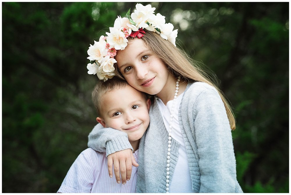 flower crowns are a beautiful to highlight your little girl during her photoshoot.