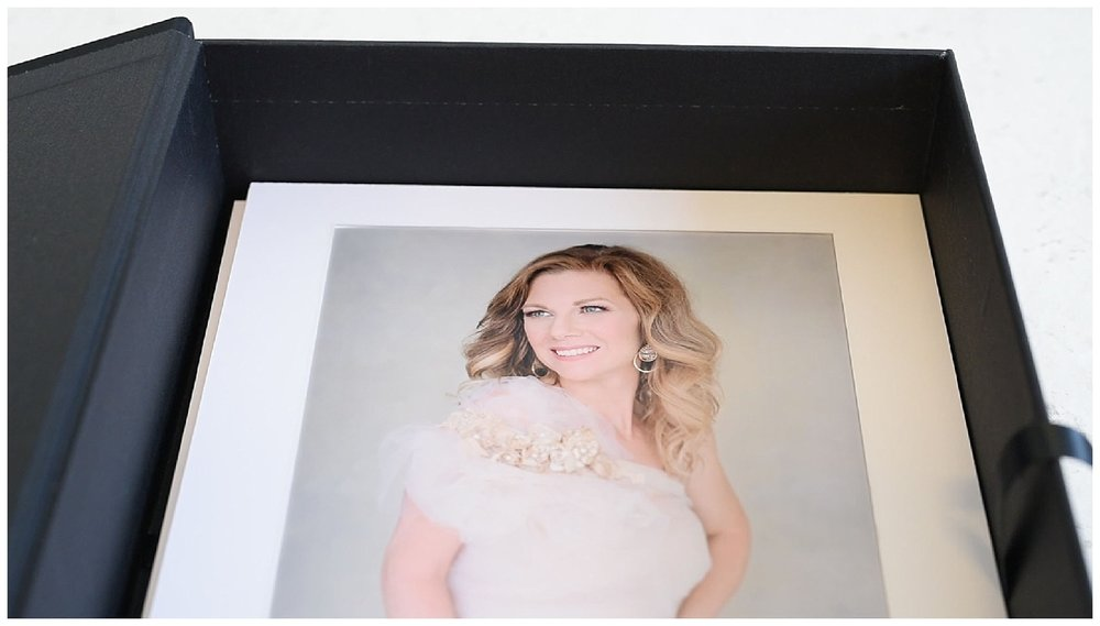 Black Label Photo box holds all your amazing matted print from your session. It comes with any collection.