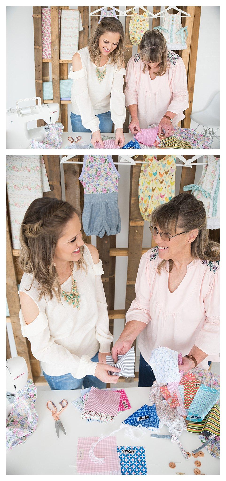 how to make handmade little girl dresses