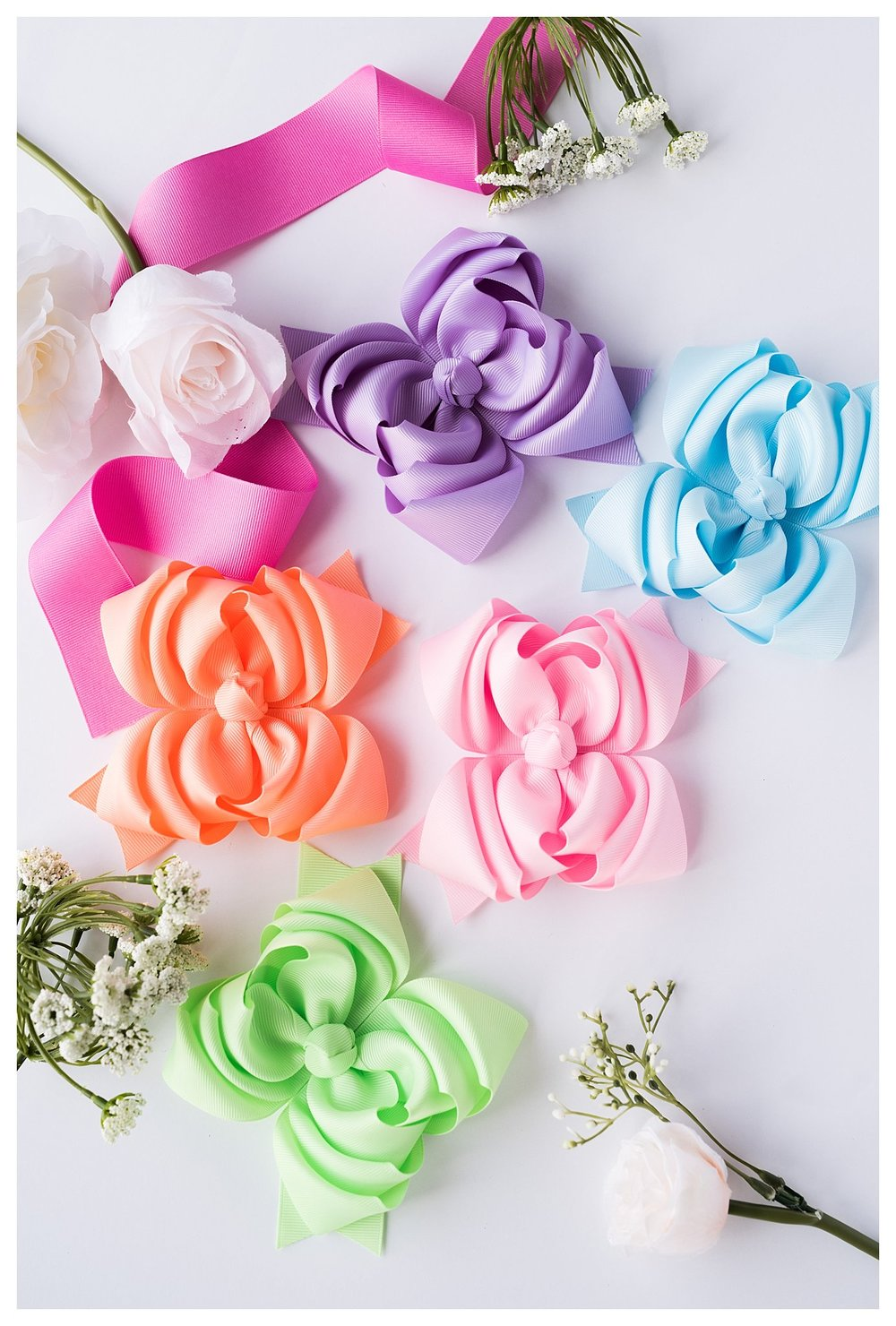 Haddie Bear Bows, homemade children's bows, gifts for girls