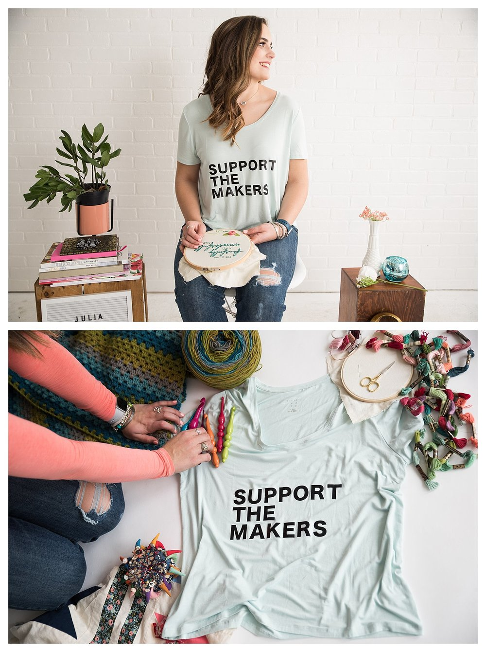 support the makers shirt, t-shirt design, small business, boutique photos, best branding pictures ideas