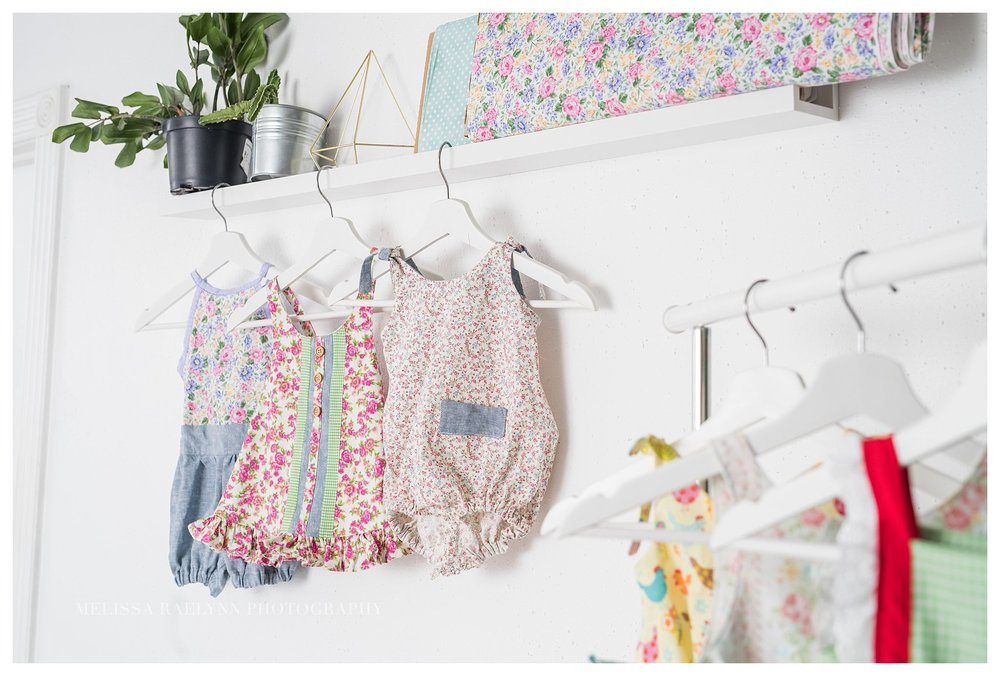 Haddie Bear Bows and Clothes Product Shoot