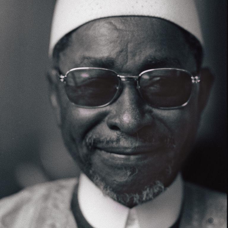 Amadou Hampaté Bâ. Image from   Le Monde .