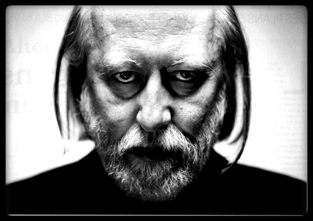 László Krasznahorkai. Image from    Flavorwire   .