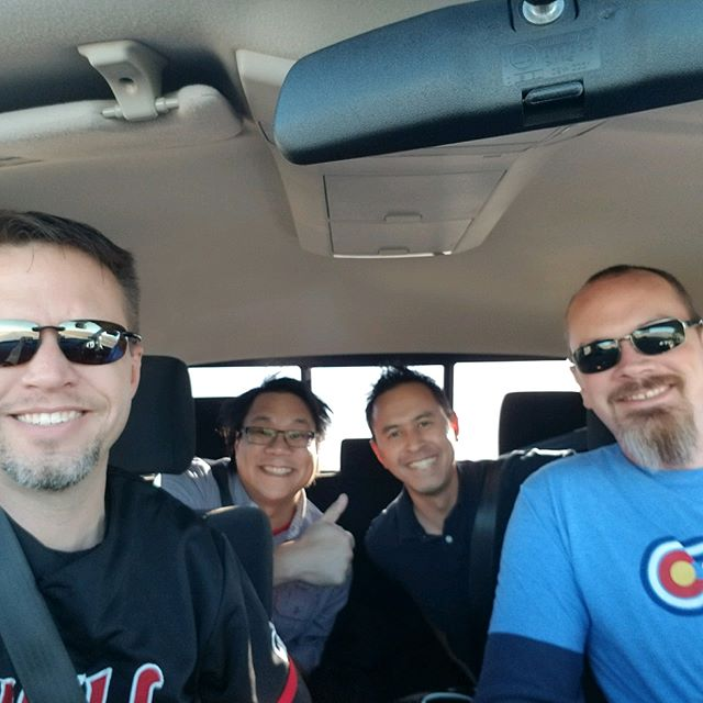 We're heading to Casper to see the @foofighters