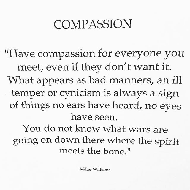 #compassion is the new black ✌️