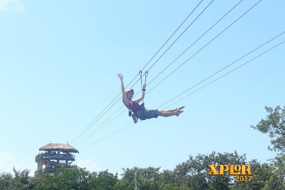 xplor park review, xplor cancun mexico