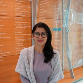 Megha is PhD candidate in Department of Medical Biophysics at University of Toronto. She is a passionate individual that contributes her time to many causes; amongst them is Meal Exchange Program. She became involved with the initiative as Community Engaged Learner in 2017 and continues to support the initiative.