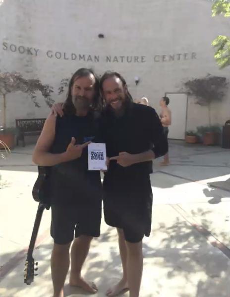 Rob and Wim Hof - The Iceman