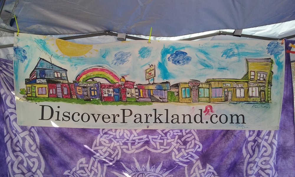 - See DISCOVERPARKLAND.com BLOG SITE for EVENTS!!!