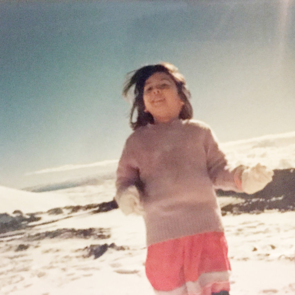 - Mauna Kea, circa 1988My first snowman was built in the driveway of my parents' house after we hauled a truckbed full of snow down from the mountain. It melted under the Kona sun in 30 minutes.