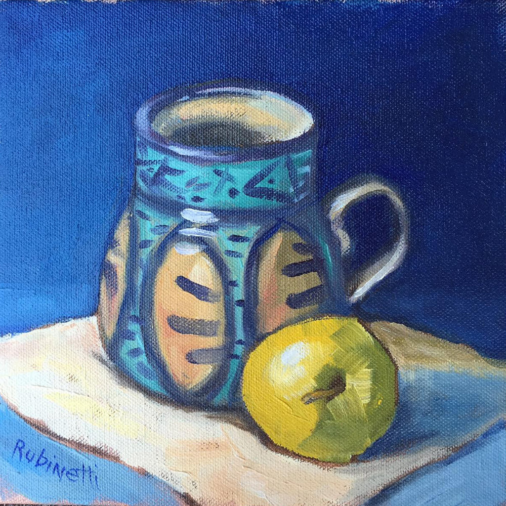 Apple and Mug