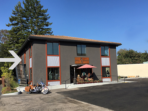 Our Scotts Valley location  is located on the second floor above the steel bonnet brewery.