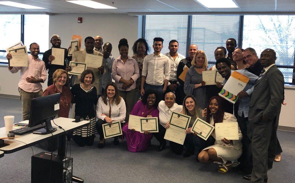M-TELL class graduates, March 2018
