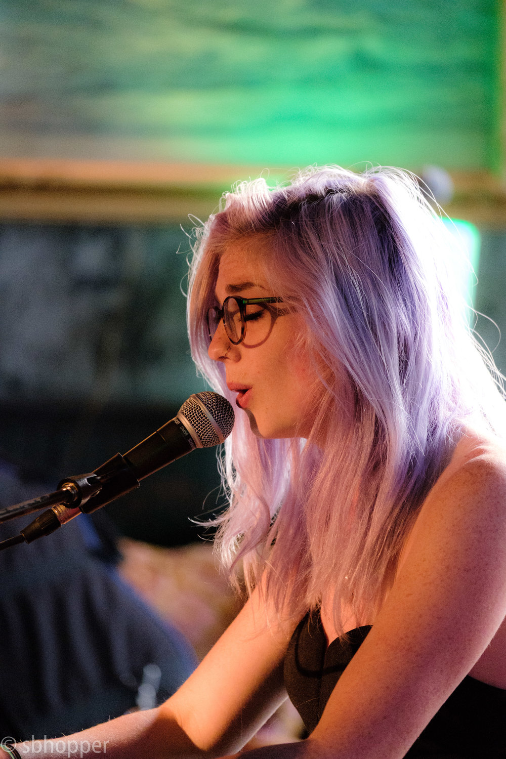 Anna St. Lee at Chop Suey, Capitol Hill, Seattle, 10 July 2017.