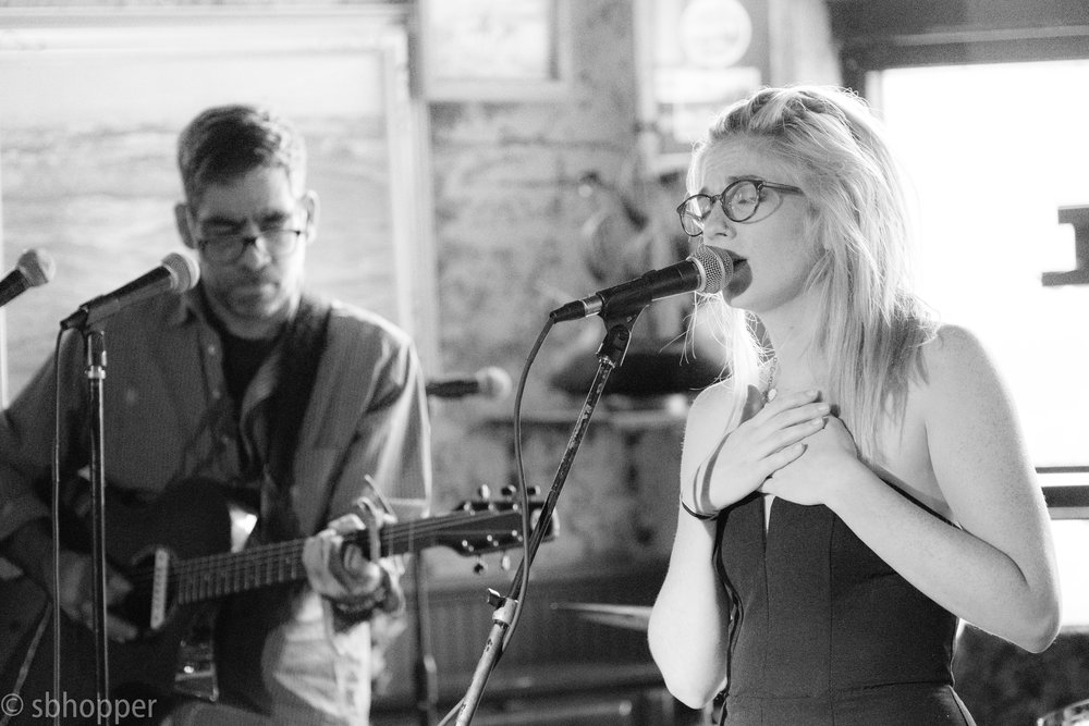 Anna St. Lee and Tobias the Owl's Elijah Dhavvan, Chop Suey, Capitol Hill, Seattle, 10 July 2017.