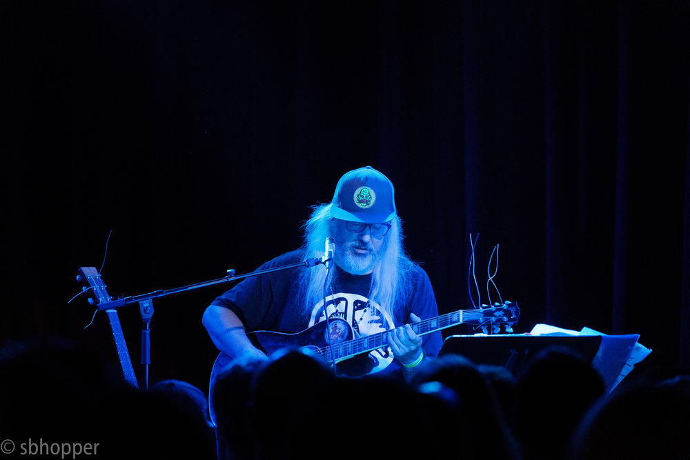 J Mascis at Seattle's Neumos, 4 August 2017.