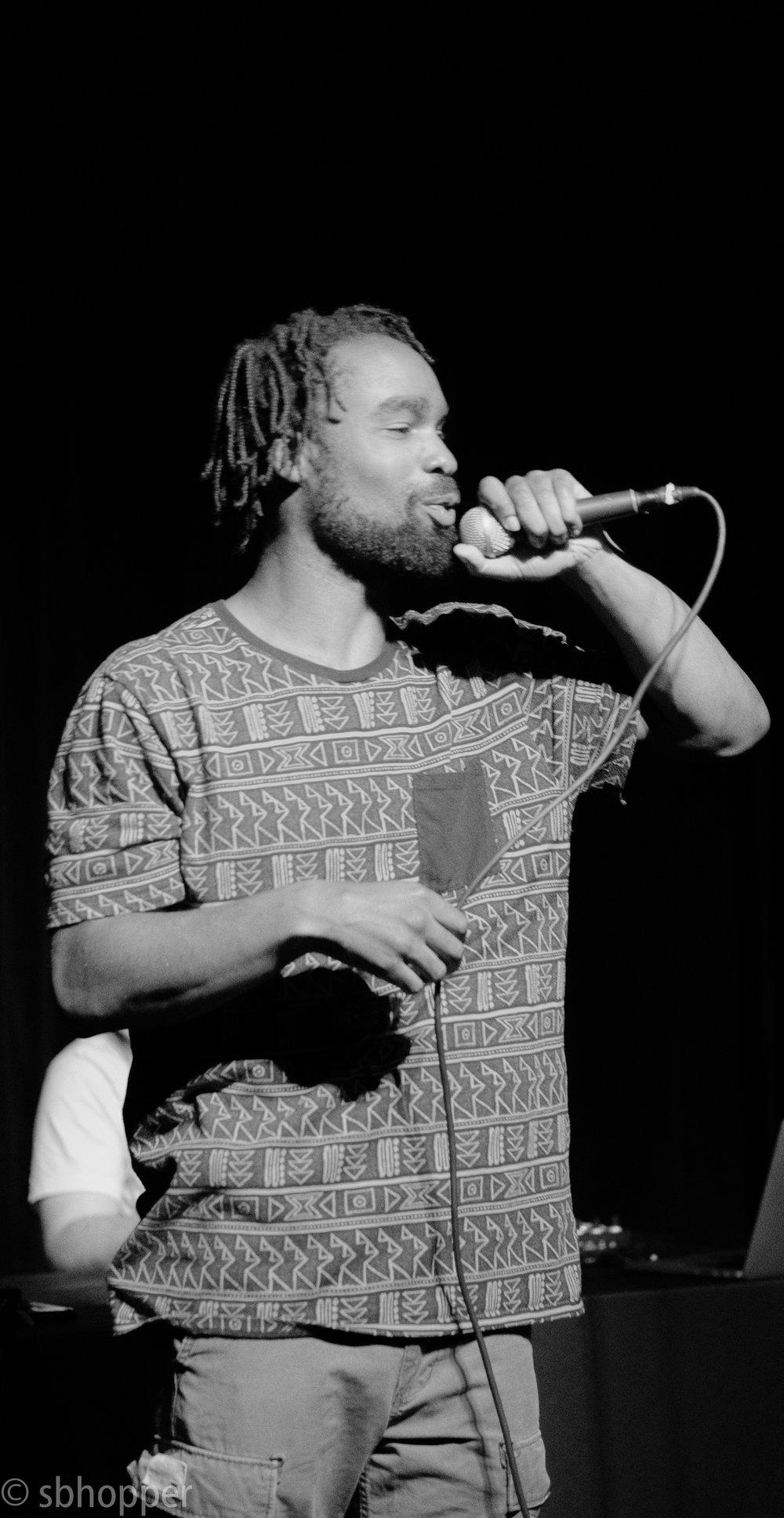 Rashuad at The Crocodile, 6 September 2017.