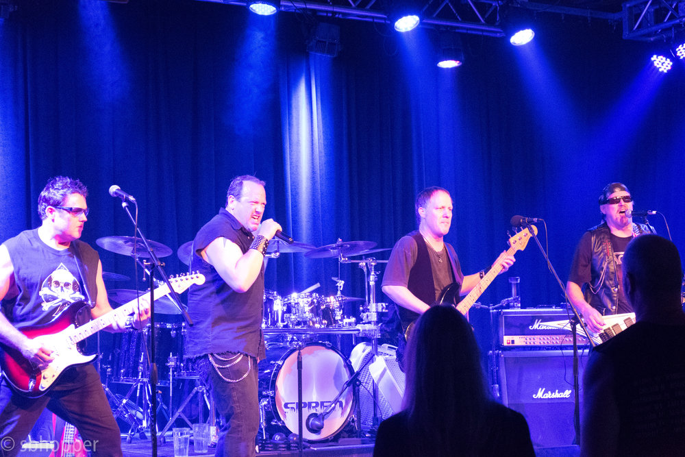 Hammerdog at Kirkland's The Lime, 22 September 2017.