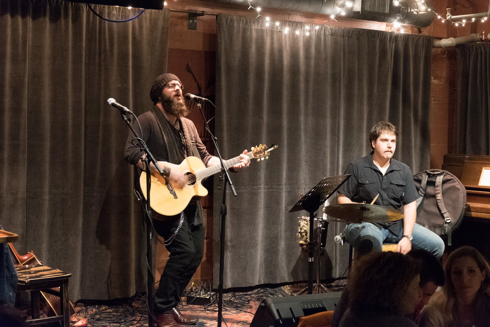 Paul Mauer and Thene Singleton, Capitol Cider, Seattle, 25 October 2017.