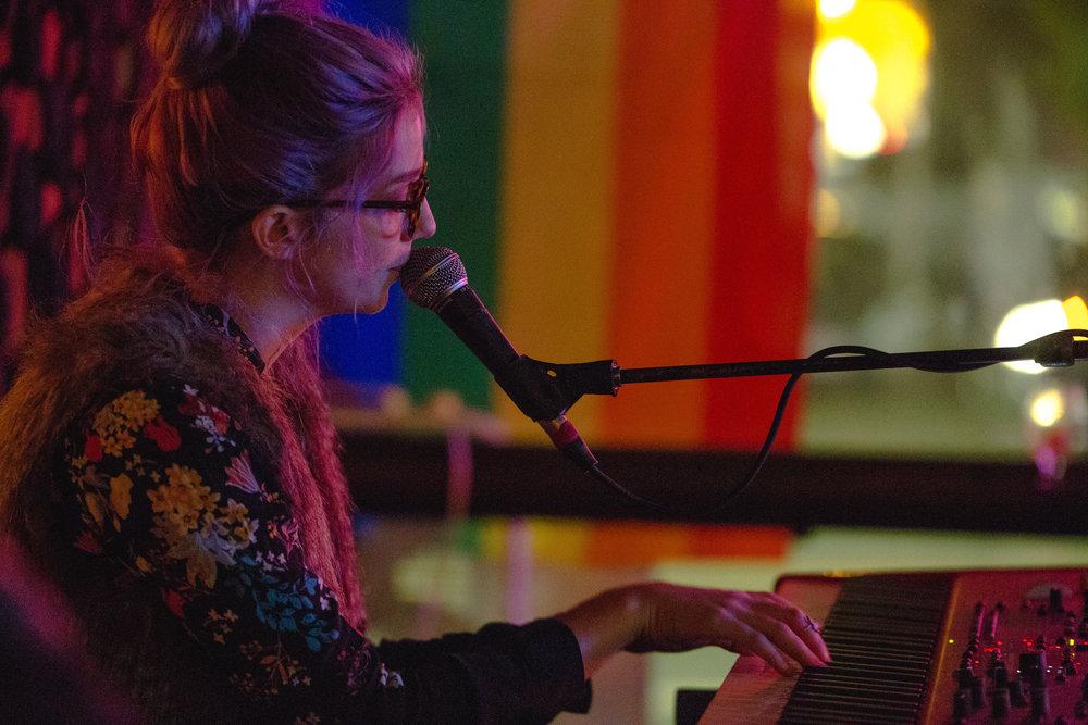 Anna St. Lee, Chop Suey, 7 November 2017. (Photo by Tony Hammons for Rain City Collective)