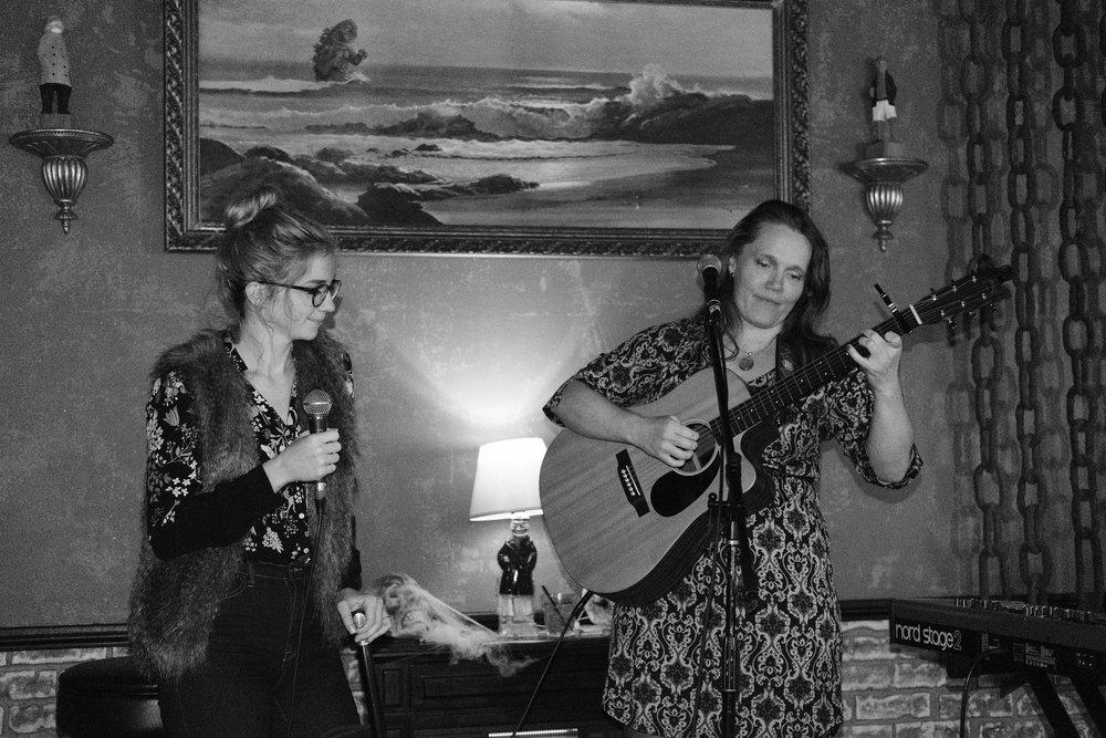Oklahoma comes to Chop Suey. Sandi Fernandez and Anna St. Lee, 7 November 2017.