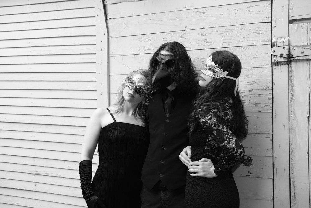 Sarah St. Albin, Ryan Hendrickson, and Heather Edgley.