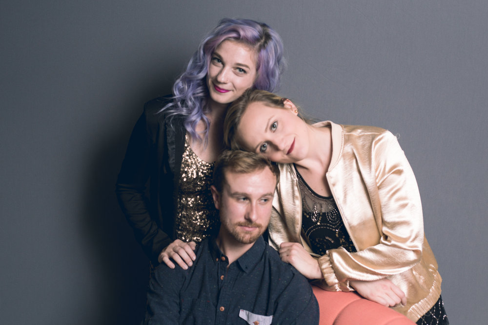 An outtake from our session. Top to bottom - Anna, Caroline and Phil.