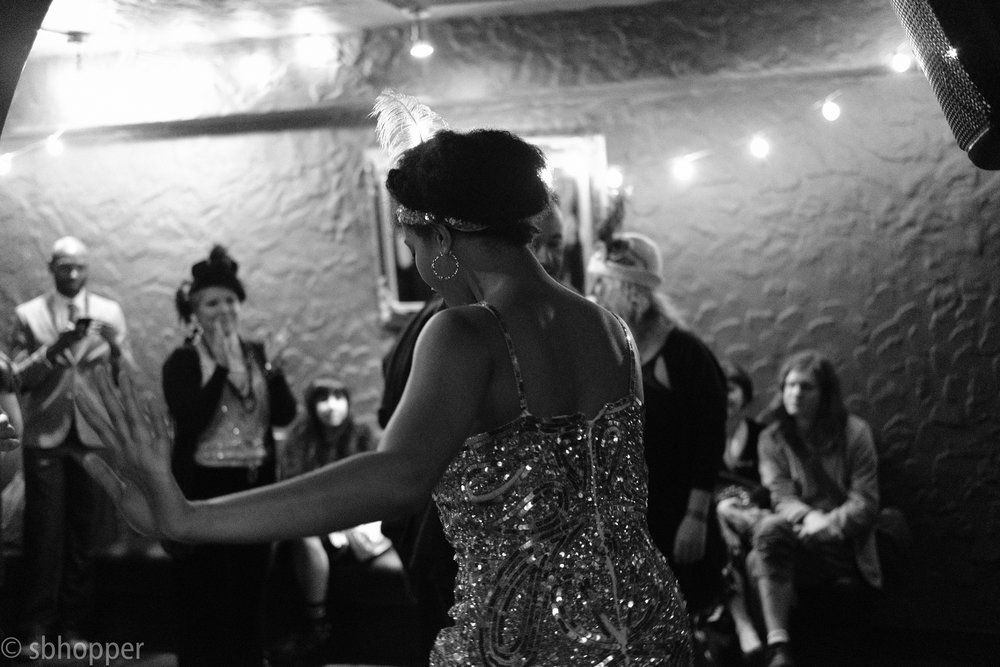 Flappers and Dappers, the Rendezvous, Seattle, 25 January 2018.
