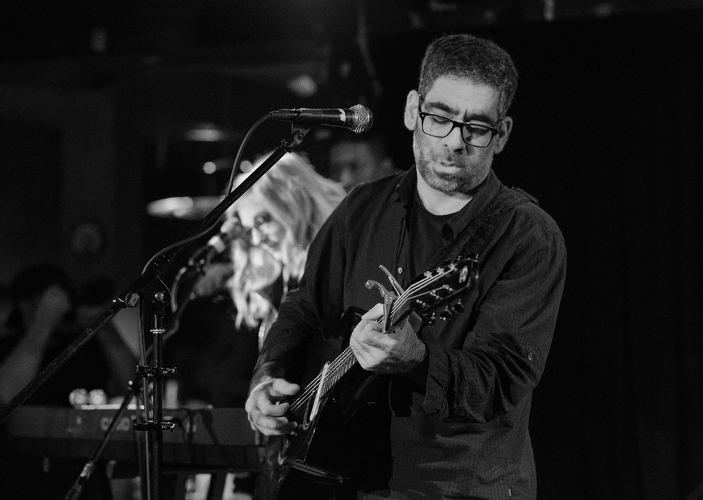Tobias the Owl, Sunset Tavern, Ballard, March 2017. In a sense, this was where RCC started. Tony and I were both there shooting. Camera nerds always talk cameras.