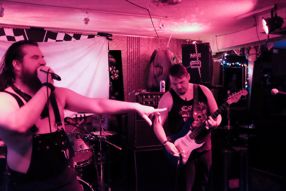 Kings of Cavalier at Darrell's Tavern, Shoreline, 10 February 2018. (Photo: Ardent.Flux)