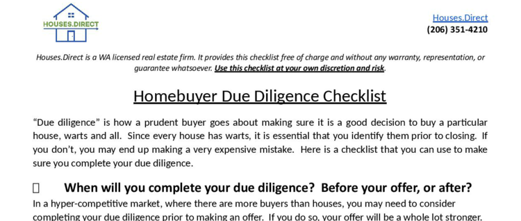 real estate agent checklist for listings
