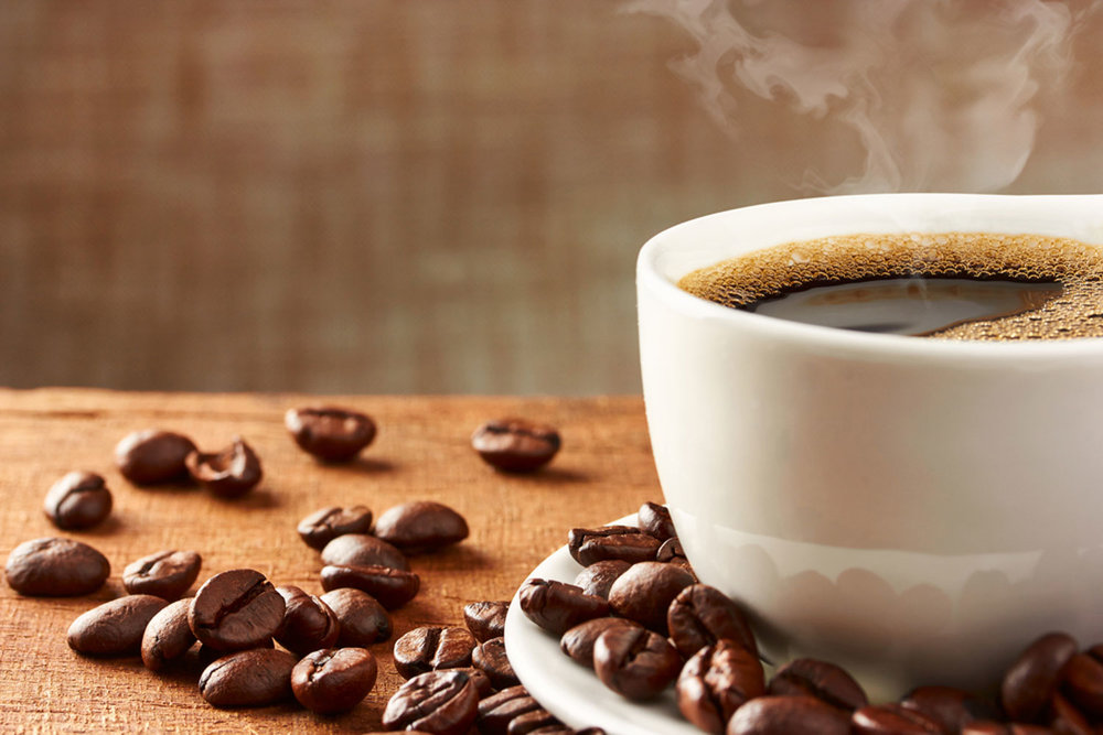 START WITH FRESH BREWED COFFEE -