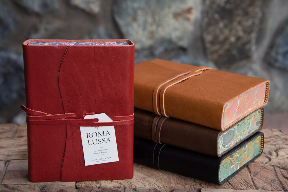 Roma Leather Journal By Cavallini Nepenthe