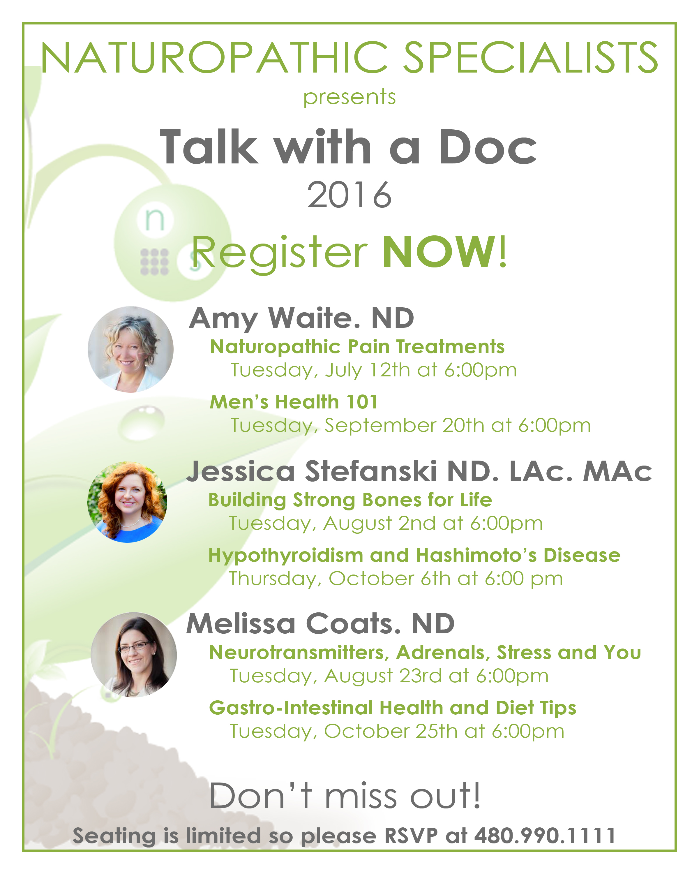 talk with a doc series