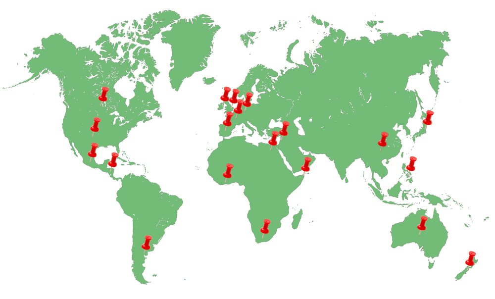 Our team of oncology specialists is currently assisting patients from 19 different countries -