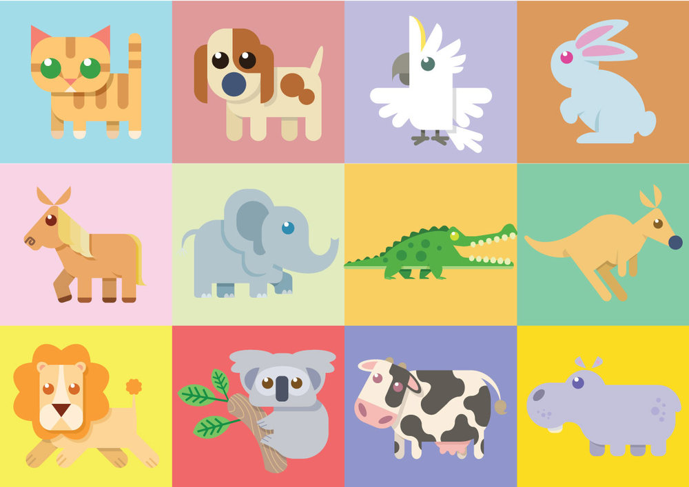 SIMPLIFIED ANIMALS