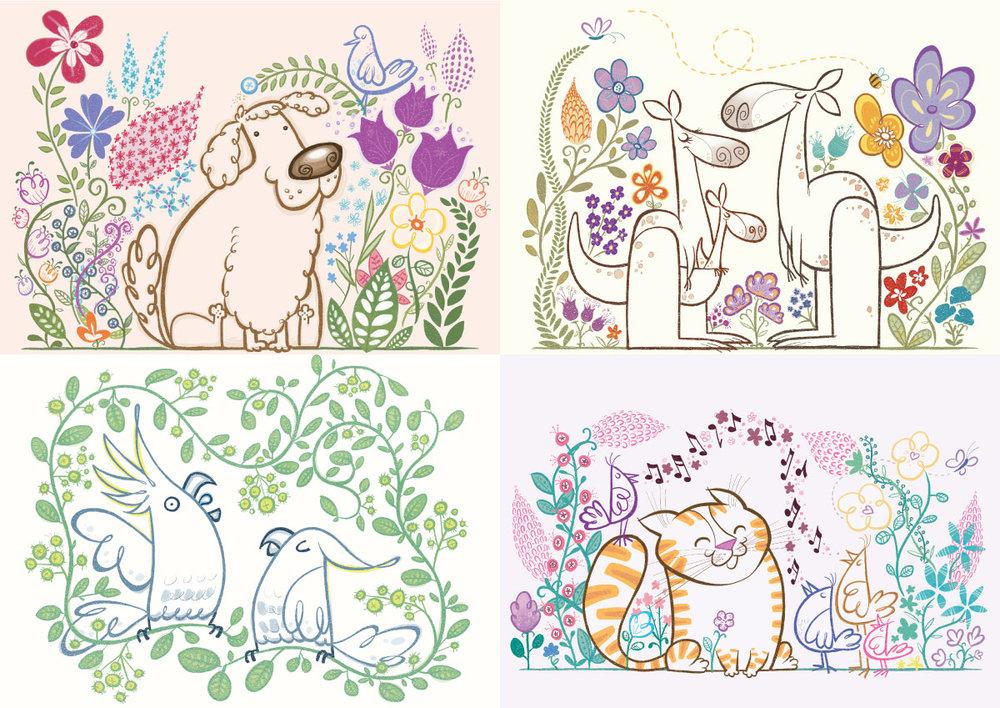 ARTSY-FARTSY STYLE ANIMALS
