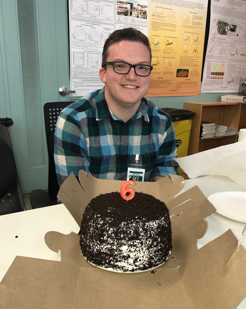 09/01/2017 - Matt's last day with us. He is now Assistant Journal Manager at AIP Publishing. We wish Matt the best on this new chapter of his life!