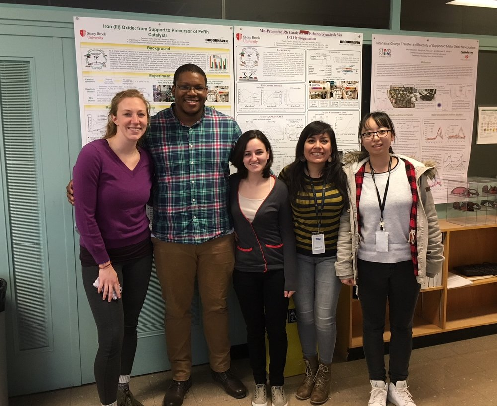 03/30/2018 - We said good-bye to our dear friend, former lab member and current postdoctoral research associate at BNL in Rodriguez's group, Robert. He will be joining BASF in NJ as Chemist III. We wish him the best on this exciting new position!