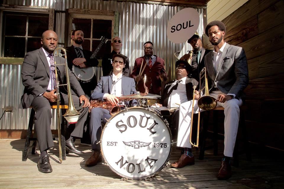 11:00 AM - 11:45 AM - Soul Brass Band +Dancing Man 504