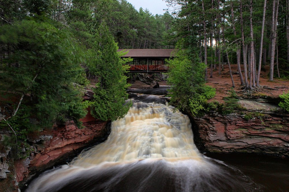Amnicon Falls State Park, Wisconsin.